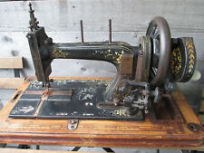 Rare Seidel & Naumann Singer imitation Prototype sewing machine to restore 1890