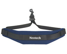 NEOTECH SOFT SAX STRAP, NAVY BLUE, COMFORTABLE SAX SLING, UK POST FREE