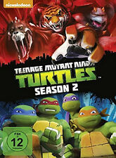 4 DVDs * TEENAGE MUTANT NINJA TURTLES - STAFFEL / SEASON 2 TMNT DIGI # NEU OVP =