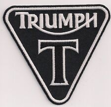 TRIUMPH MOTORCYCLES T PATENT PLATE PATCH