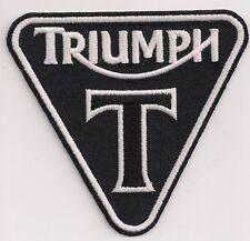 TRIUMPH MOTORCYCLES T PATENT PLATE PATCH
