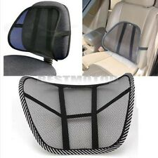 Cool Vent Mesh Back Lumbar Support For Office Chair Home Sofa Car Seat Cushion