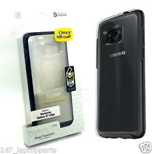 Genuine Otterbox Symmetry DropProof Black Clear Case For Samsung Galaxy S7 Edge