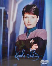 """Star Trek Deep Space 9 Autograph 8x10 Nicole de Boer """"Lt. Ezri Dax"""" (LHAU-855)"""