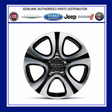 "Genuine New Fiat 500X 18"" Granulate Finish  Alloy Wheel Kit, PN - 51993395"