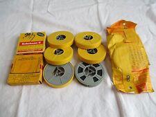 Vintage 8mm Home Movie Cine Reels x 10 - 1960's Recordings