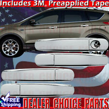 2012 2013 2014 2015 2016 2017 FORD FOCUS Chrome Door Handle COVERS W/O Smart Key