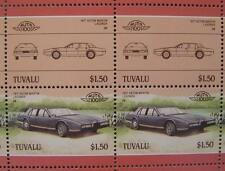 1977 ASTON MARTIN LAGONDA Car 50-Stamp Sheet / Auto 100 Leaders of the World