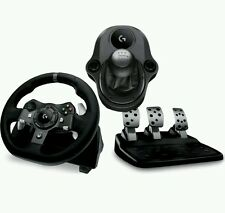 LOGITECH Force G920 Xbox One & Driving PC Racing Rueda, Pedales Gearstick Paquete