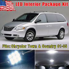 14PCS White SMD LED Conversion Package Kit for 2001-2005 Chrysler Town & Country