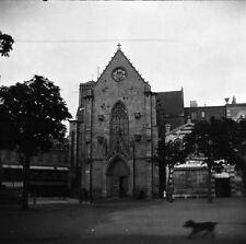 SAINT BRIEUC c. 1900 - 4 Grands Négatifs Eglise Côtes d'Armor Bretagne - FD 68