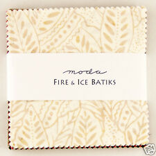 Charm pack Moda Fire & Ice Batiks 42 five inch batik cotton squares #4334PP