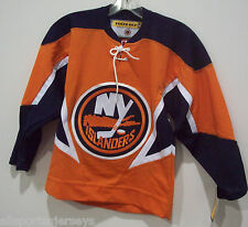NEW NHL VINTAGE KOHO EMBROIDERED CREST YOUTH L / XL JERSEY NEW YORK ISLANDERS