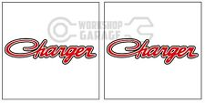 HEMI CHRYSLER VALIANT - Badge Style Stickers - CHARGER Standard  #6