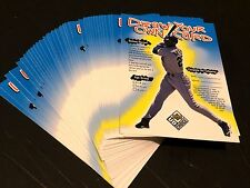 KEN GRIFFEY JR 1999 Upper Deck CC LOT of ( 36 ) Choice Draw Your Own Entry CARDS