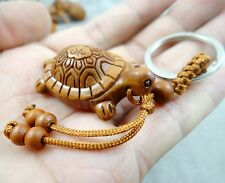 Hand-carved tortoise  Wooden Crafts, Key Chain, Key Ring Lover Gift h2
