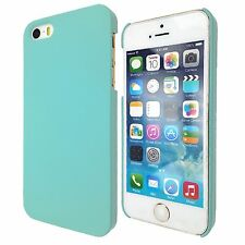 New Thin Hard Slim 1-Piece Case Rubberized Cover For Apple iPhone 5S 5 4S