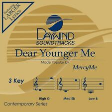 Mercy Me - Dear Younger Me - Accompaniment CD New