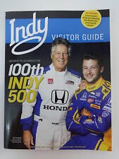 Indy Visitor Guide Magazine 100th INDY 500 Marco & Mario Andretti