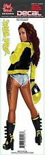 Lethal Threat Sticker Aufkleber Urban Biker Yellow Babe Artist Ted Hammond