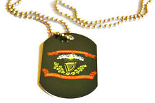 American Civil War Celtic Irish Brigade Flag New Metal Dog Tag ID Necklace