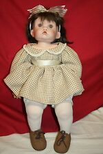 Cindy Marshner Rolfe Carrie Doll 309/2000 Designer Guild Collection