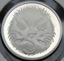 1981 or 1982 or 1983 or 1984 or 1987 or 1988 5 cent proof from set! FREE POST!