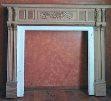 Fireplace Mantel Surround - Oak painted - 1903