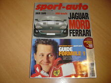 Sport Auto N°470 Mercedes Brabus C V8.Zonda C12 S.Guide Formule 1 2001