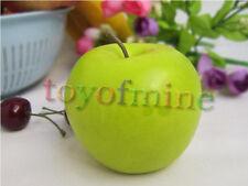 Mele artificiale mela verde Grande plastica decorativa della frutta
