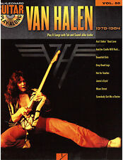Van Halen Gutiar Play Along, Tab and Sheet Music- Hot for Teacher, Beautiful Gir