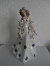 """Porzellanskulptur """"Dame"""""""