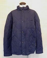 J.Crew $198 Sussex Quilted Jacket vintage navy blue S 04337 winter coat NWT