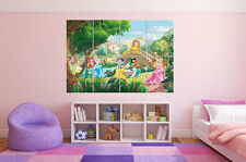 Princesse Princess  Castle Chateau Disney Poster Grand format A0 Large Print
