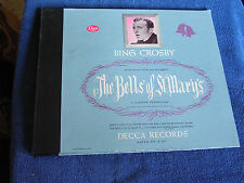 Bing Crosby/Bells of St Mary's/OST/2 78s/Decca Album Set A-410/NEW OLD STOCK/*
