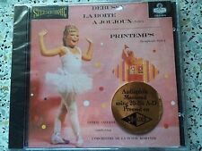 CSCD 6079 DEBUSSY - LA BOITE A JOUJOUX (CLASSIC RECORD-GOLD-CD/FACTORY SEALED)
