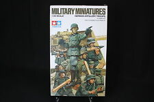 XD043 TAMIYA 1/35 maquette figurine 35031 German artillery troops