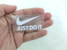 NIKE LOGO JUST DO IT IRON ON PATCH SPORTS DIY T-SHIRT CLOTHING POLO 5 X 3 CM.