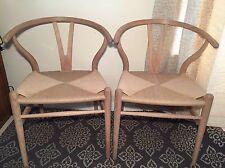 No Bid Needed AuthenticCH24 Wishbone Chairs Hans Wegner Each