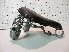 vintage ladies IVER JOHNSON bicycle long spring seat mesinger troxel persons