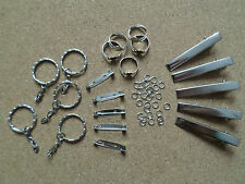 Jewellery Making Findings Kit - Silver Tone - Assorted Pieces