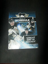 "PITTSBURGH PENGUINS 2012-2013- 'great day for hockey "" SCHEDULE"