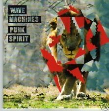 (669P) Wave Machines, Punk Spirit - DJ CD