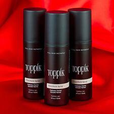 TOPPIK FiberHold Spray X 3 Multibuy - strengthen the bond between fibres & hair