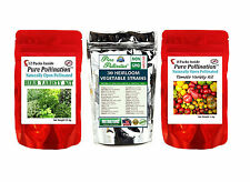 48 Heirloom Non-GMO Vegetable Fruit Tomato Herb Seed Variety Packs Garden Lot