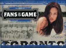 2005 PLAYOFF PRESTIGE FANS OF THE GAME TIA CARRERE
