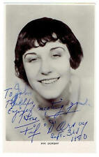 Fifi Dorsay Autograph Hand Signed Photograph Postcard RP 8771