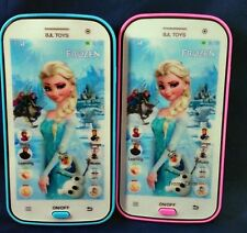 Kids Toy Mobile phone Smartphone Learning device Music Song ABC, Disney Frozen
