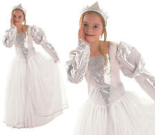 Childrens Kids Princess Fancy Dress Costume Girls Childs Cinderella Outfit L