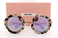 Brand New Miu Miu Sunglasses MU 13N 13NS HAO2E2 HAVANA SAND/GREY For Women